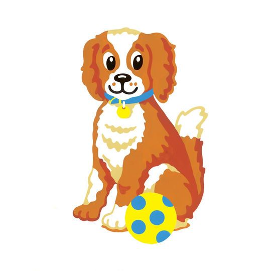 reeves color shape by numbers dog color shapes and products
