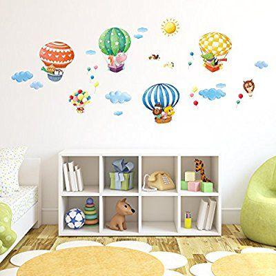 Adesivi Murali Con Animali.Pin Su Cameretta Bimbo