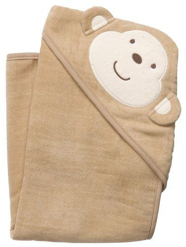 Carter's Brown Monkey Hooded Towel BROWN/MULTI by Carter's. $10.00. Machine Wash. cotton. Imported. Carter's offers cute & comfortable clothing with soft, durable fabrics! Absorbent terry velour towel features a cute monkey face peeking over the soft, lined hood. Large 30'' x 30'' towel keeps baby warm & cozy after bathtime. Cotton.