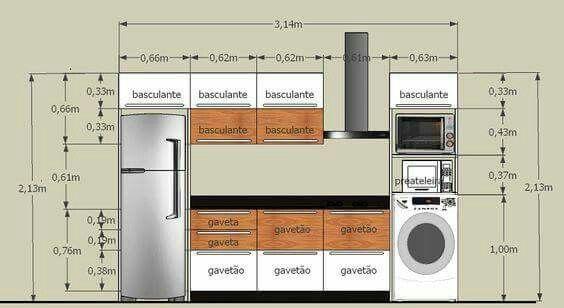 Cocina | References | Pinterest | Cocinas, Planos y Arquitectura