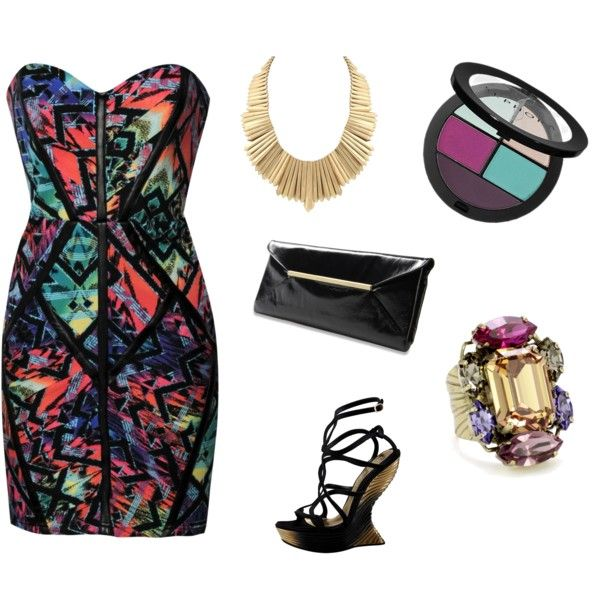 Night Out, created by hannahfarrelly on Polyvore
