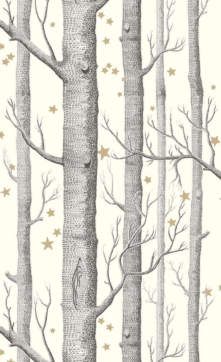 Papier Peint Woods And Stars Cole And Son Cole And Son Wood Stars Cole And Son Wallpaper