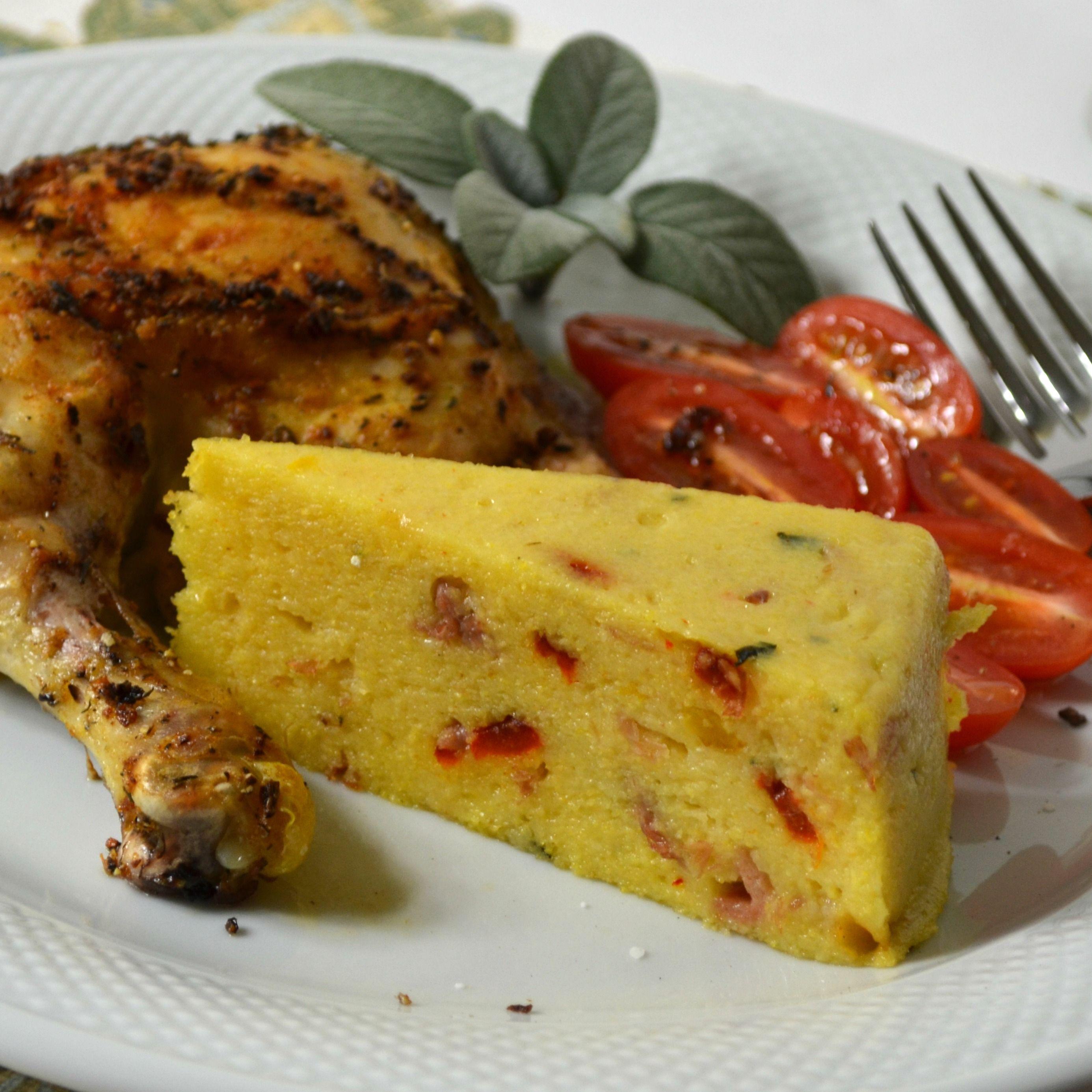 How To Cook And Serve Cornmeal Polenta   Torta De Polenta