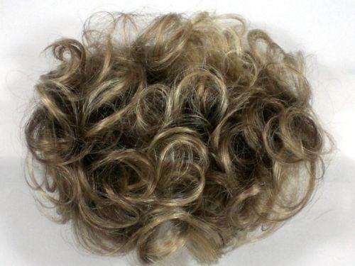 Honeycomb Base Short Wavy Curly Pull Through Wiglet Hair Enhancer Salt Pepper Hair Enhancers Short Wavy Salt And Pepper Hair