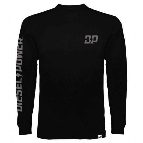 Diesel Power Gear Diesel Power Long Sleeve T-Shirt Official Merch Black