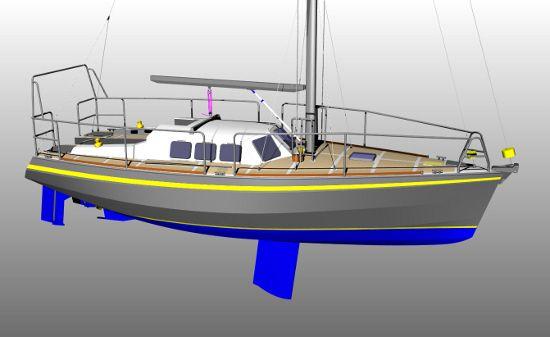 Yacht makett
