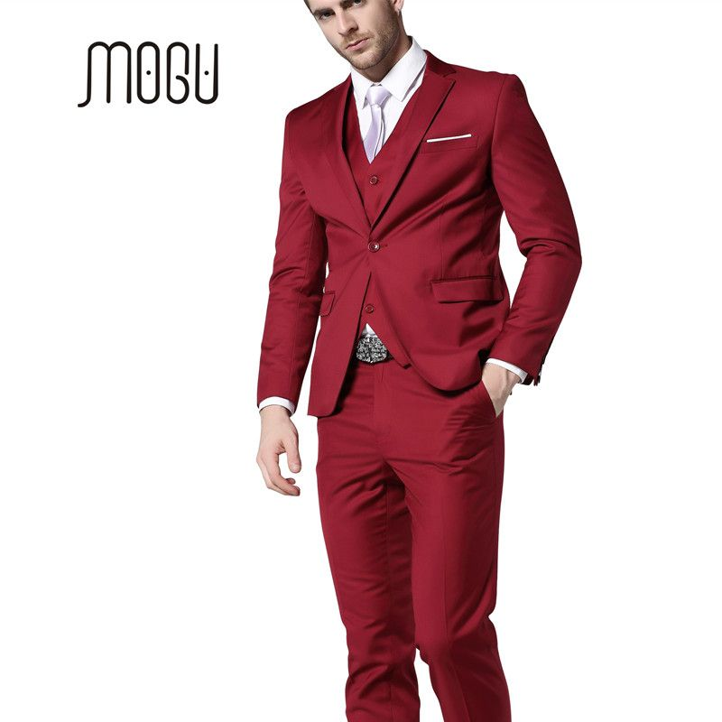 Click to Buy << MOGU Mens Suits 2017 New Fashion Clothing Latest ...