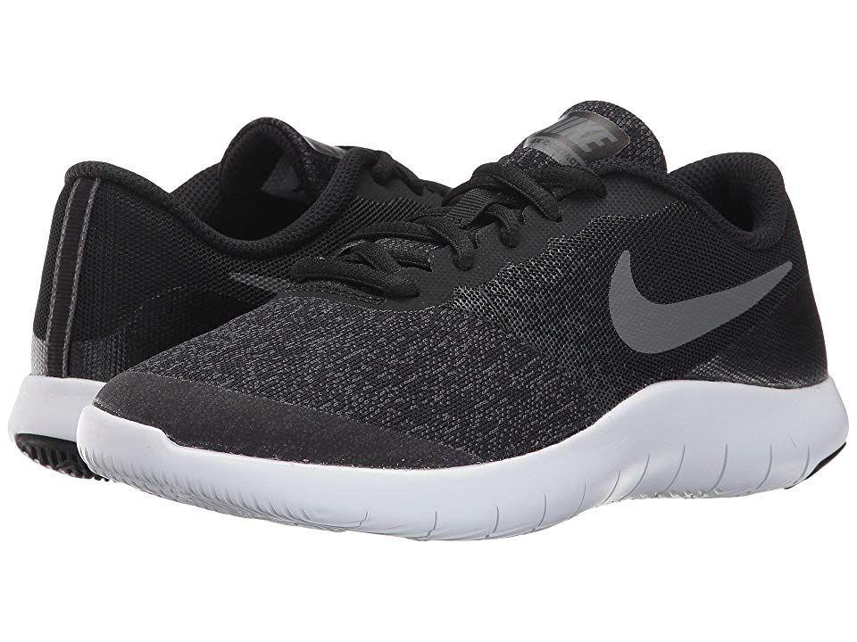 732a1825ee16c Nike Kids Flex Contact (Big Kid) (Black Dark Grey Anthracite White ...