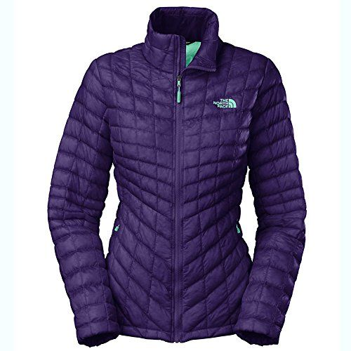 8d3b7cb77 The North Face ThermoBall Full Zip Jacket Womens Garnet Purple ...