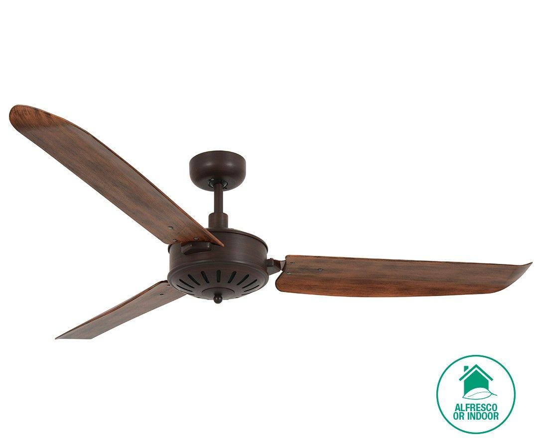 Deckenventilator Badezimmer ~ Roto ceiling fan distressed koa open box return