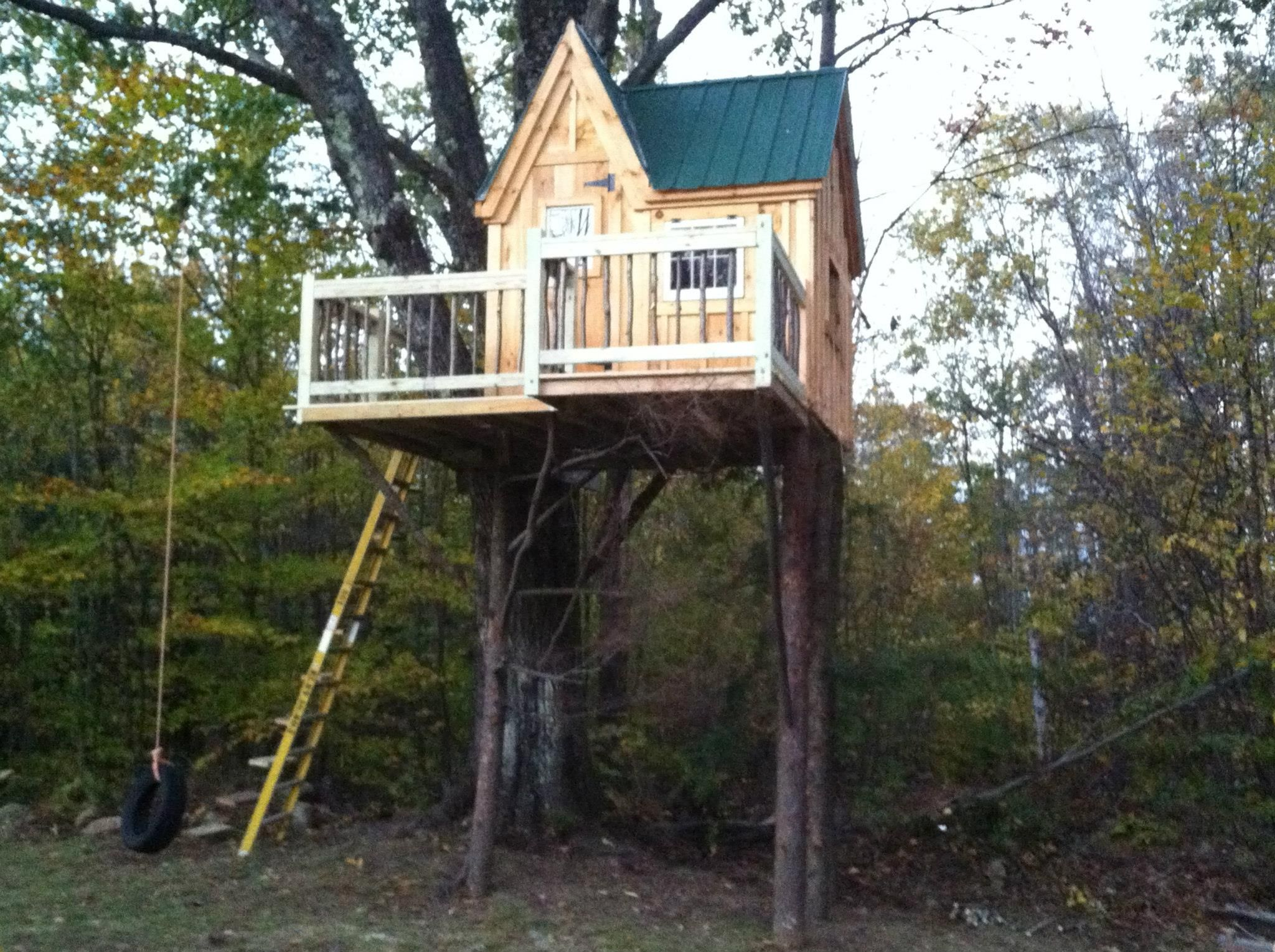 oh my a tree house playhouse ideal available as a pre cut kit