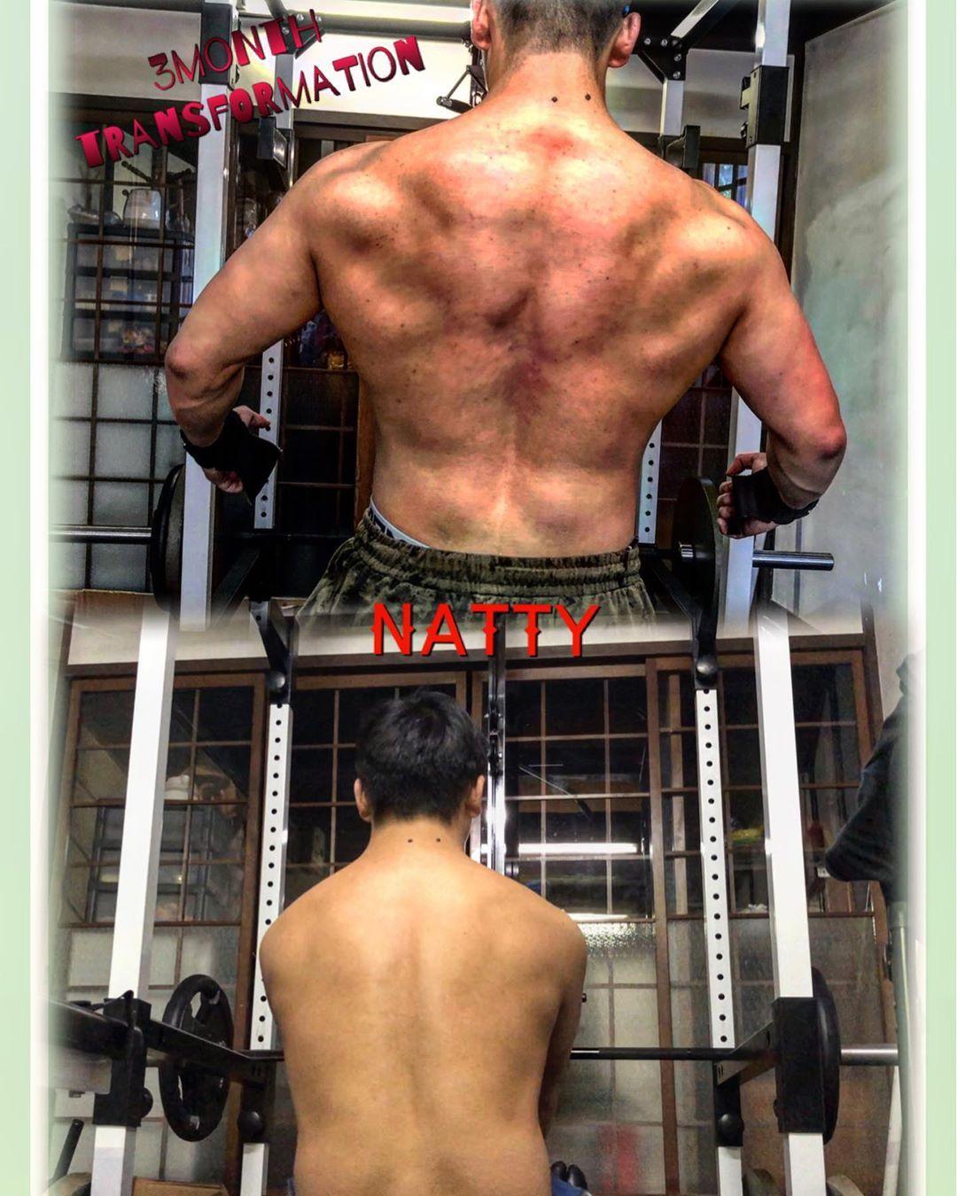 3months transformation. #fitnessmotivation #fitness #physique #japanfitness #natty...