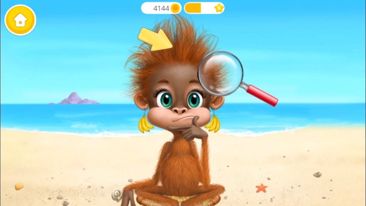 Jungle Animal Hair Salon 2 Wild Pets Haircut Style Makeover Ipad Gam Fun Games For Kids Jungle Animals Pet Hair