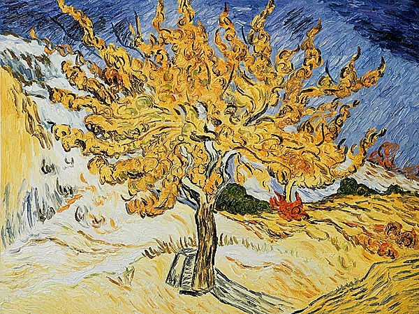 aa6348591f Vincent Van Gogh s painting of the Mulberry tree