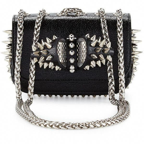 8131482f34 Christian Louboutin Sweety Charity Spikes Crossbody Bag ( 1