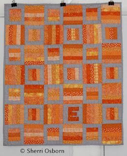 Hidden Treasure Crafts A Couple Of Quilts Quilts Orange Quilt Blue Quilts