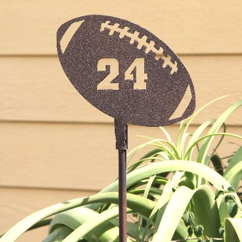 Football Yard Decorations: Outdoor Decor: Yard Art | Yard ...