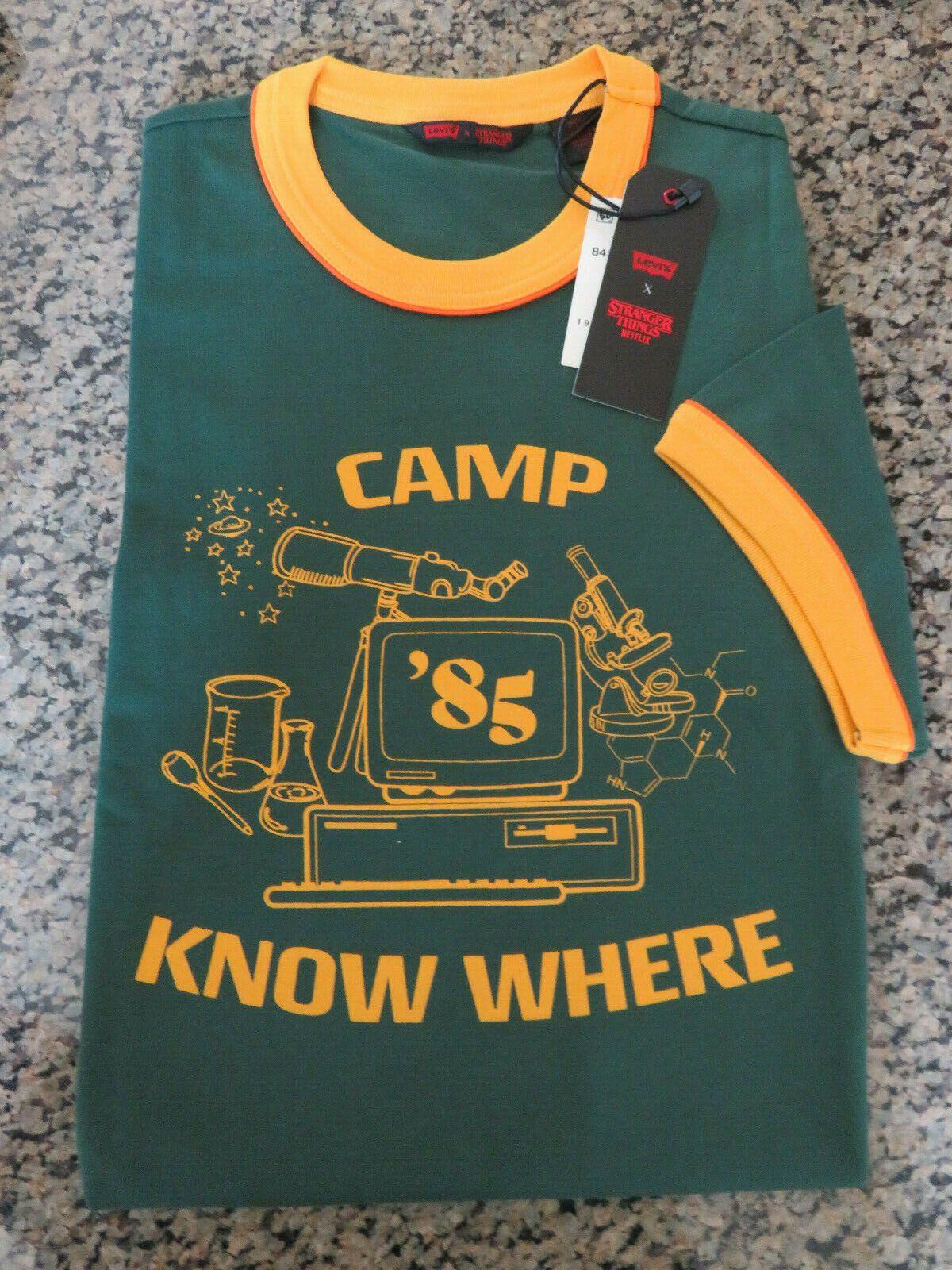 Kids Stranger Dustin Funny T-shirt Camp Know Where Boys Things T-shirts 2020 Ne