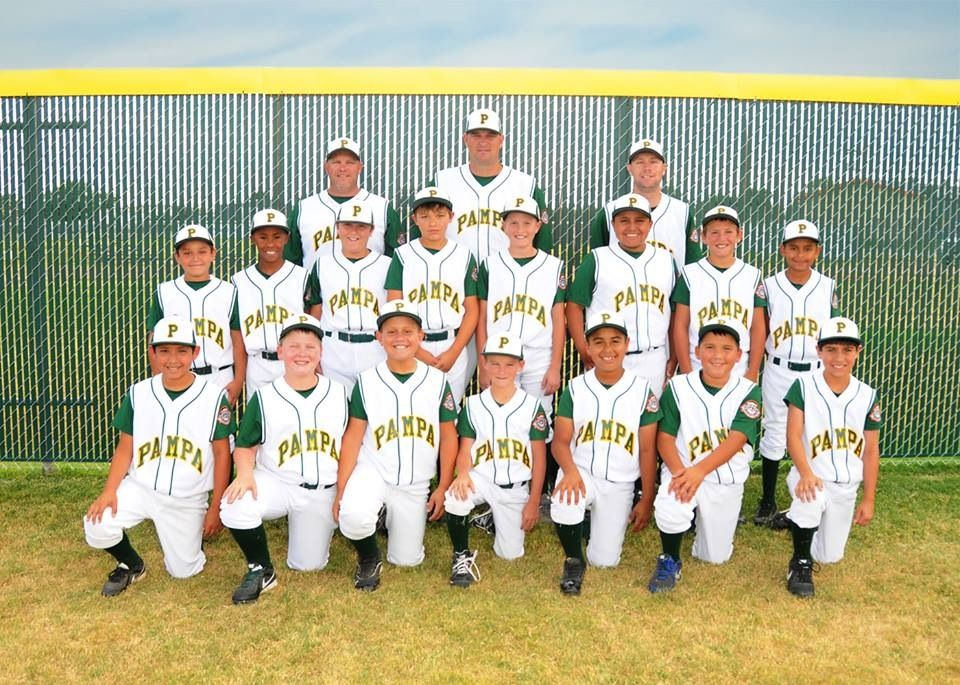 Pampa Tx 9 10 Year Old Allstars Team Playing Regional July 19 In Pampa Tx Pampa 10 Year Old Teams