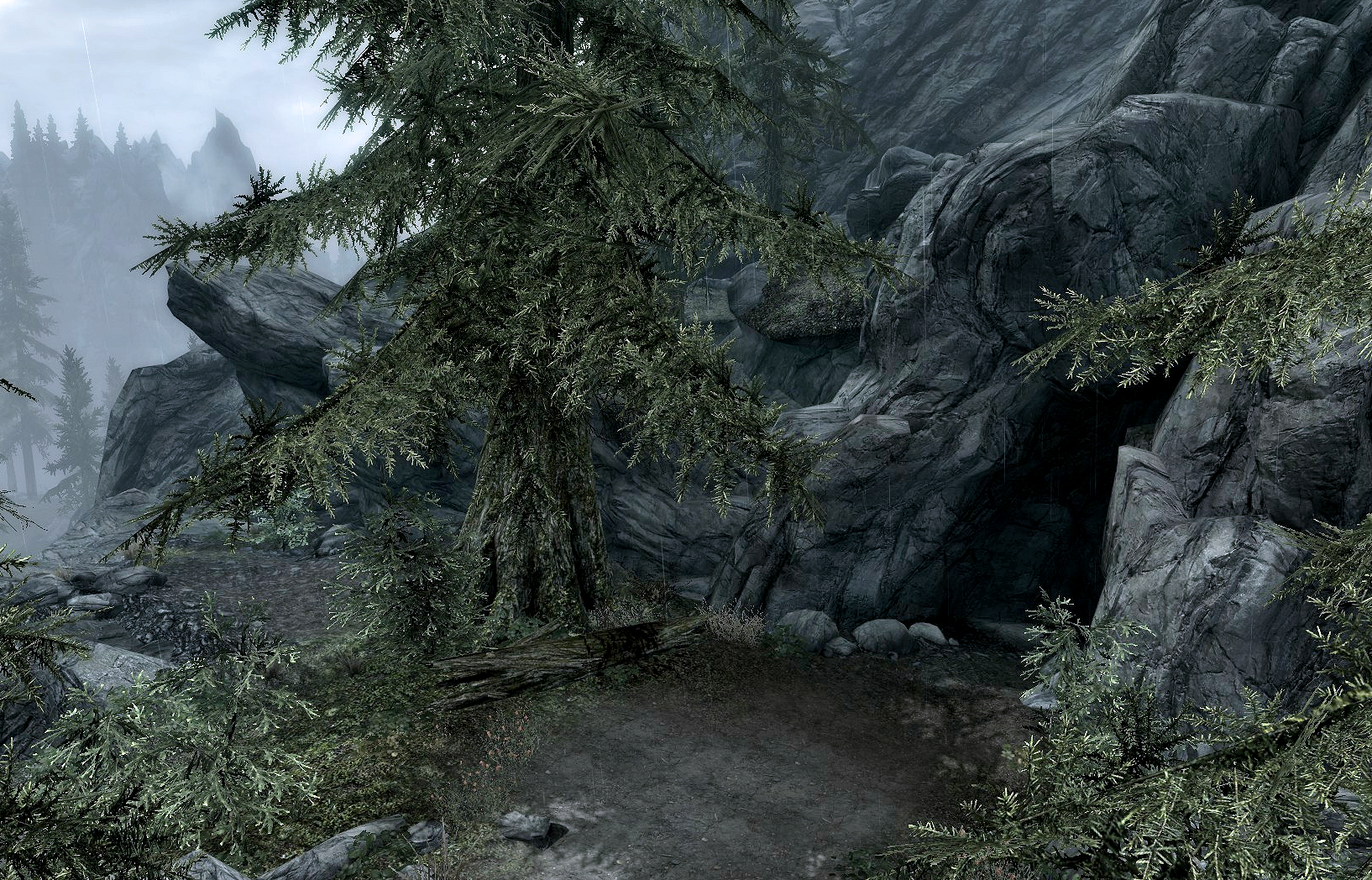 Moss Mother Cavern Is A Cave Located In The Elder Scrolls V Skyrim It Is West Of Whiterun And Almost Direc Nature Inspiration Cavern Lost Mines Of Phandelver