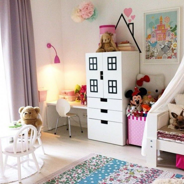 Placard maison enfant ikea stuva chambre d 39 enfants chambre enfant rangement chambre enfant - Ikea meuble bebe ...