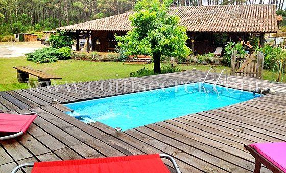 Location villa de vacances avec piscine près de la dune du Pyla - location maison cap ferret avec piscine
