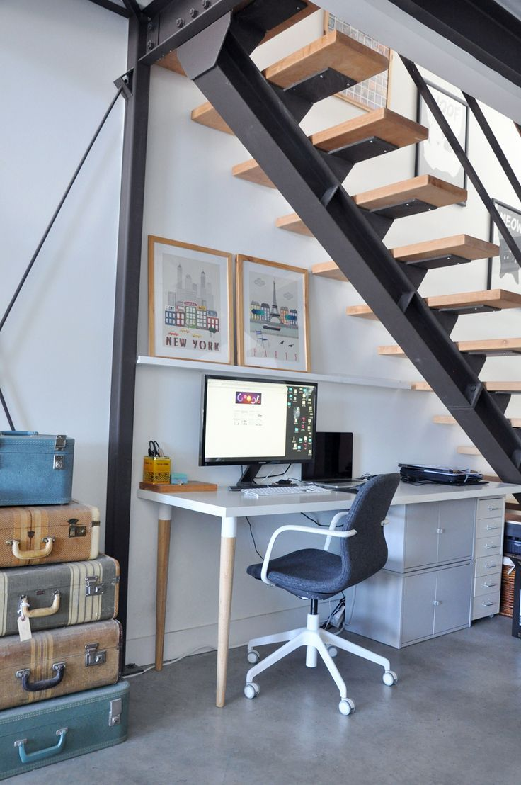 30 Functional And Creative Home Office Ideas: Modern Home Offices, Inexpensive Home Decor, Home