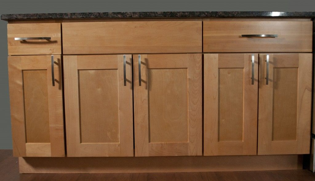 Kitchen cabinets shaker style maple google search for for Shaker style kitchen cabinets