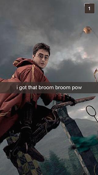 28 Snapchats From Harry Potter Harry Potter Obsession Harry Potter Love Harry Potter Funny