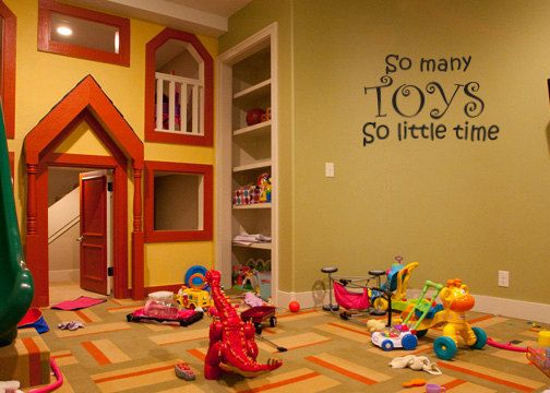 So many toys so little time quote wall decal by LittleCreekMarket ...