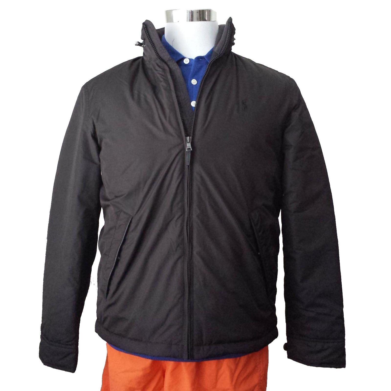 #cloth shoes boots POLO Ralph Lauren Men Size S Black jacket Nylon shell  Fleece Lining