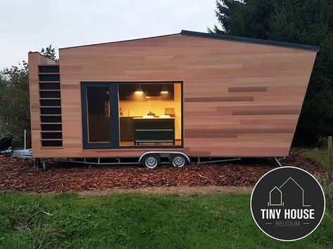 Modern Tiny Home on Wheels by Tiny House Belgium