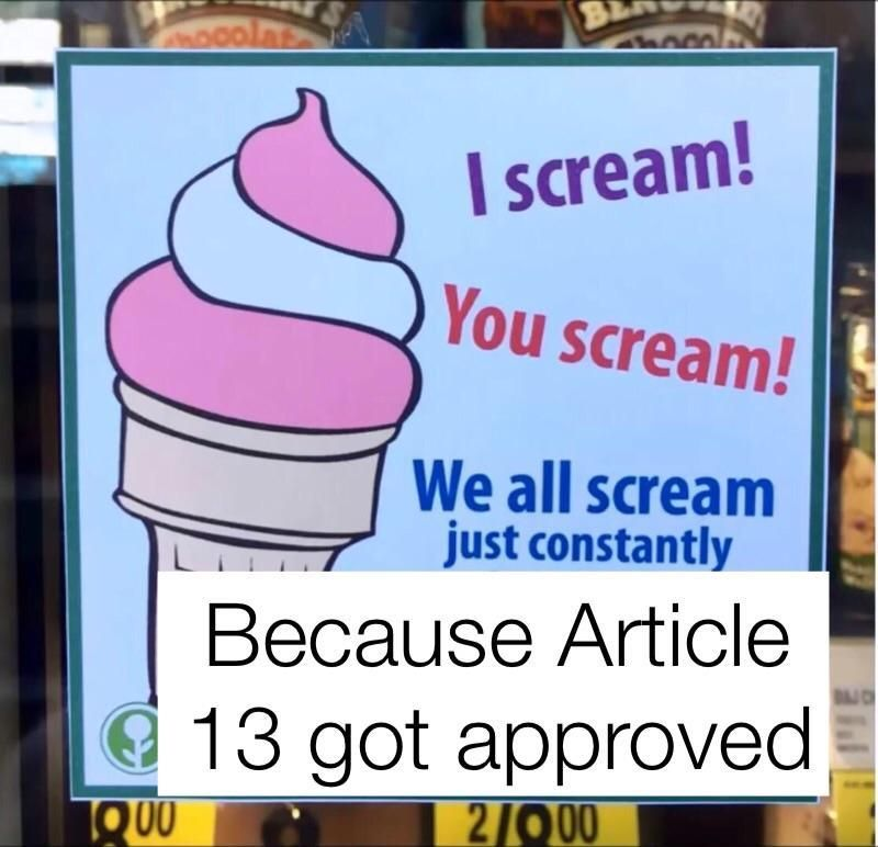 The Best Of Eu Passing Article 13 Memes Really Funny Memes Reddit Funny Really Funny