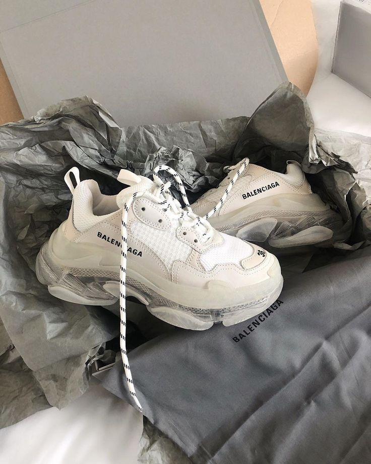Balenciaga Triple S Trainer Sneaker Bred Shoe