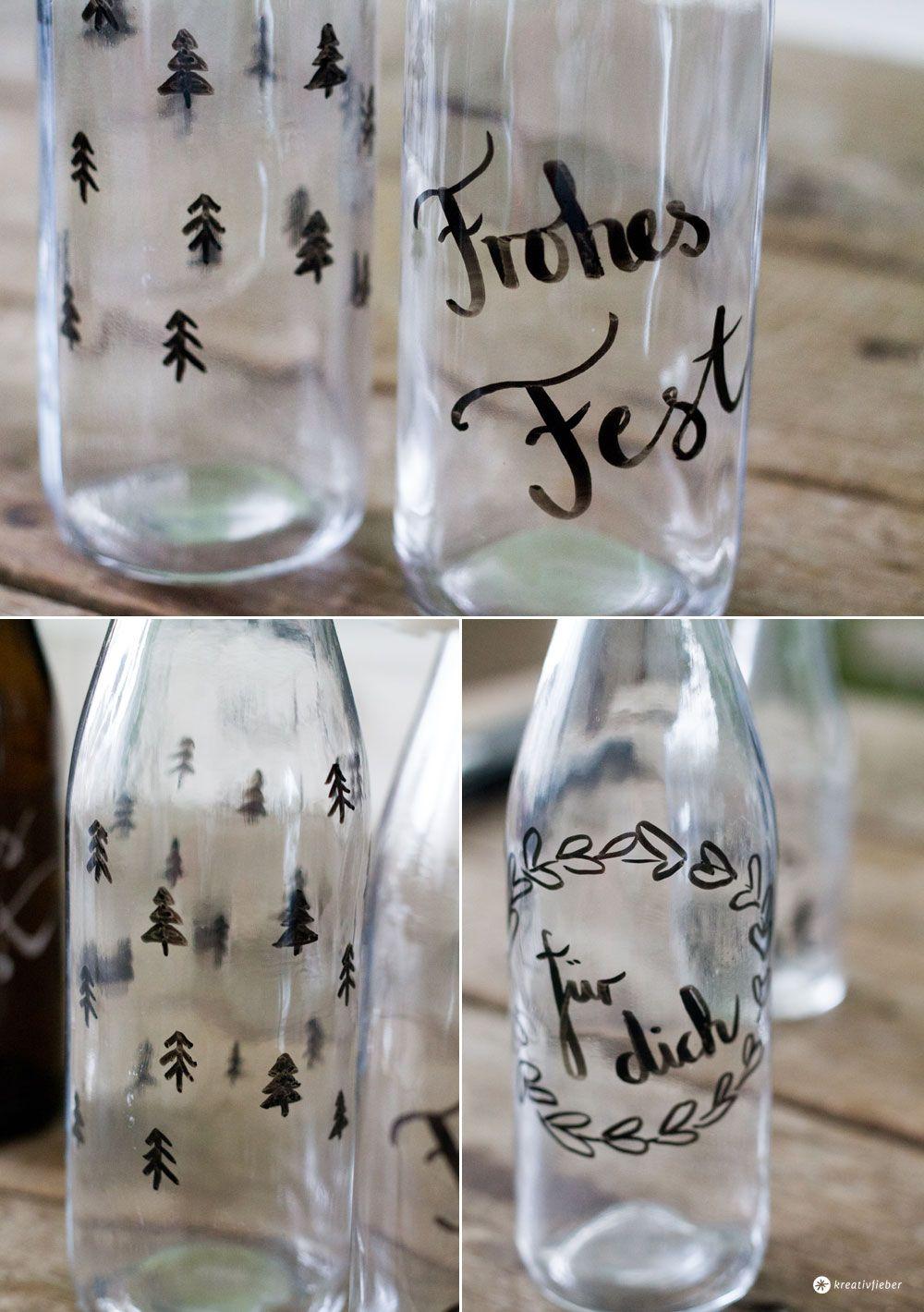 Likorflaschen Verzieren Wdr Daheim Und Unterwegs Diy
