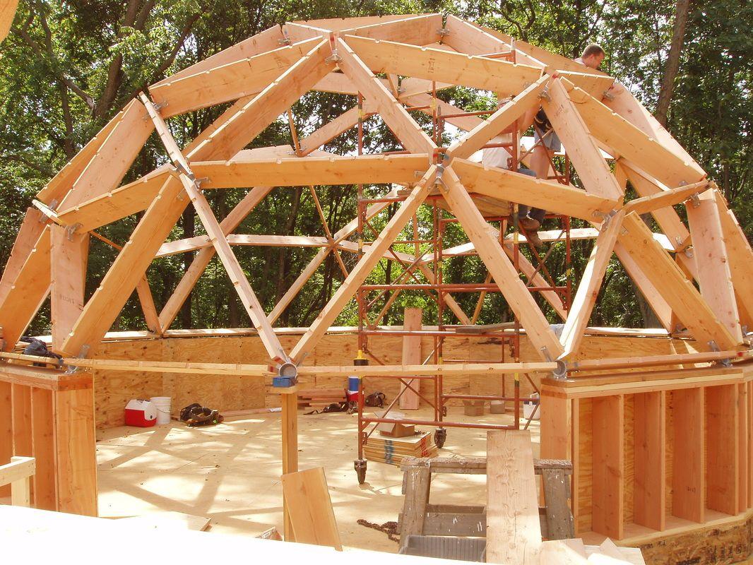picture dombauten pinterest geod tische kuppel kuppel und haus. Black Bedroom Furniture Sets. Home Design Ideas