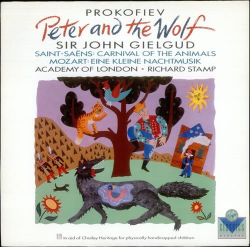 Prokofiev Peter And The Wolf 30 albums, 30 stories: peter & the wolf .