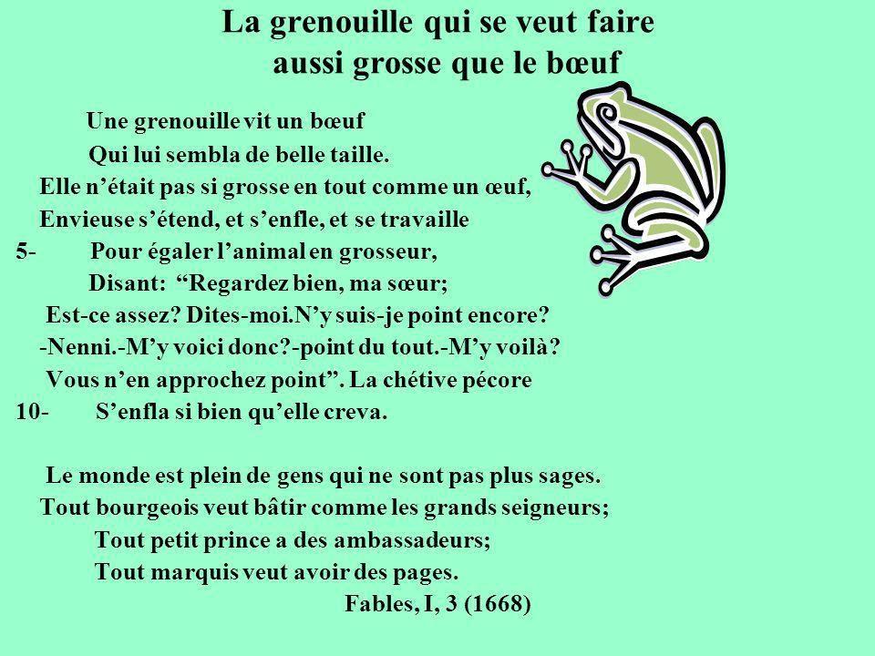 Esope la grenouille et le b uf prim fran ais 8 po sies - Image la grenouille et le boeuf ...