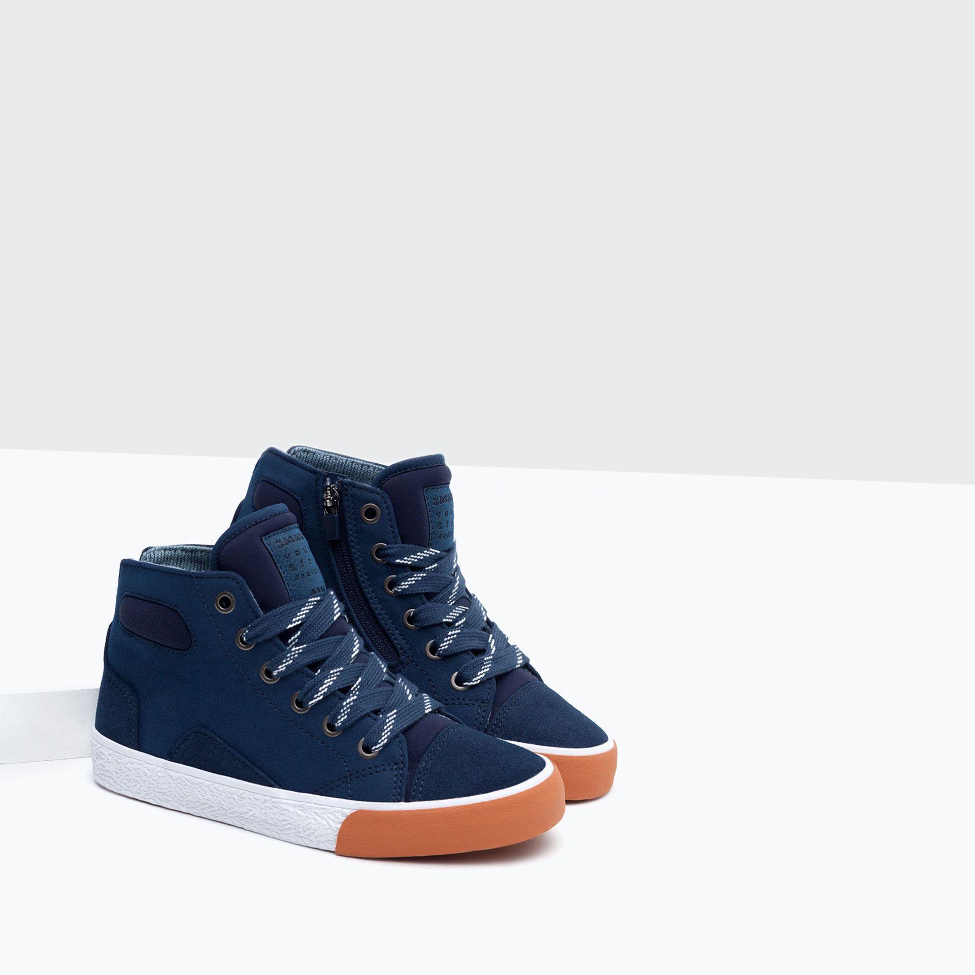fb1d49d2a9c BASKET DETALLES - Zapatos - Niño - Niños | 4 - 14 años - NIÑOS | ZARA España