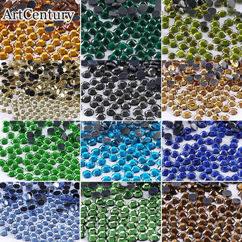 Kaufen DMC Alle Farbe Alle Größe Kristall & Steine Hotfix Strass Für ...