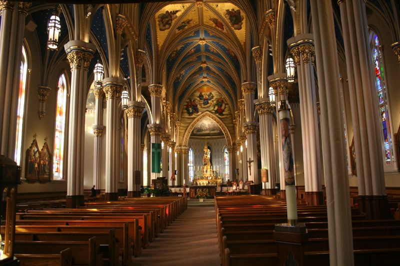 Been here!! Basilica of the Sacred Heart at University of