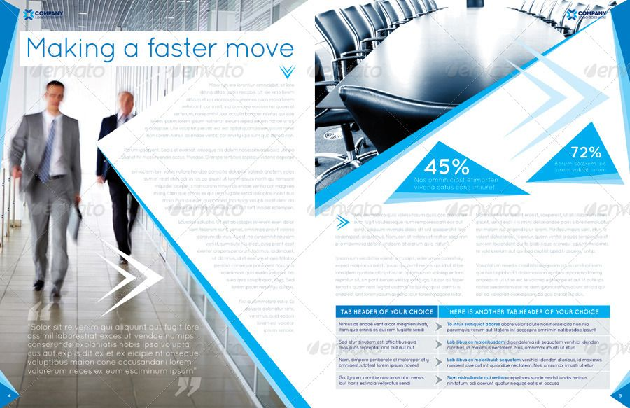 Brochure Template - InDesign 8 Page Layout 04 #Ad #InDesign, #sponsored, #Template, #Brochure, #Layo...