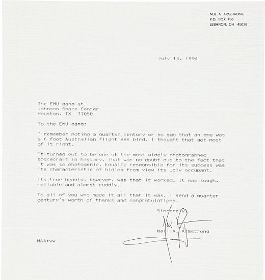 6 Memorable Letters From Neil Armstrong Fundraising letter and