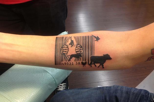 10 Tatuajes Que Te Daran Ganas De Ser Vegetariano Tatuaje