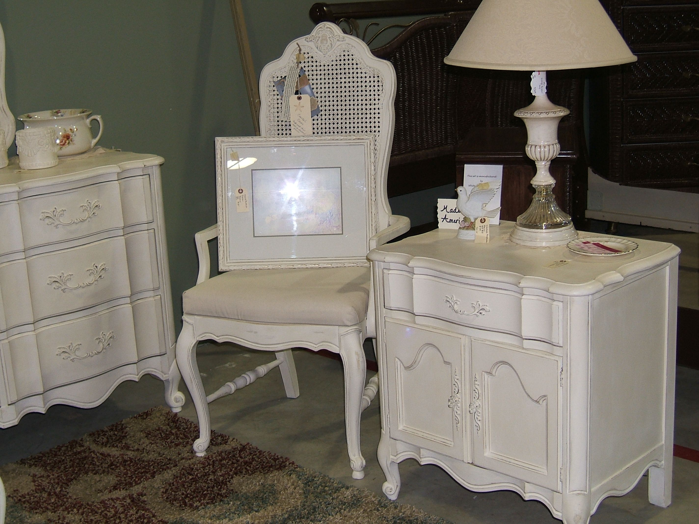 Vintage French Provincial Furniture Repurposed
