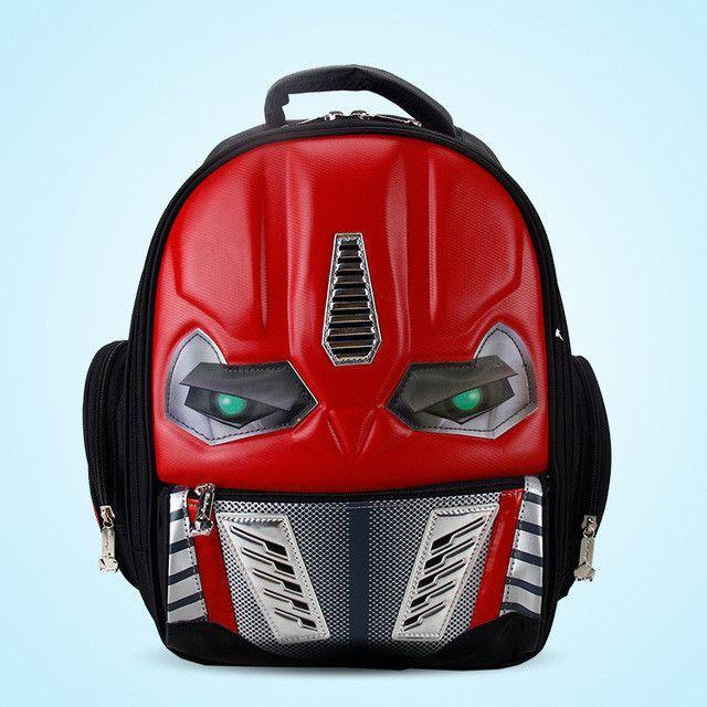4986becdc1c8 3D New Cartoon School Bags For Boys Little Children Backpacks Kids  SchoolBag Cool Backpack School Mochila