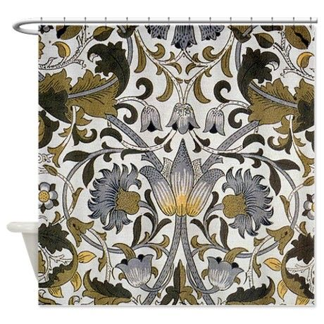 Lodden Design By Morris Shower Curtain By Fineartdesigns With