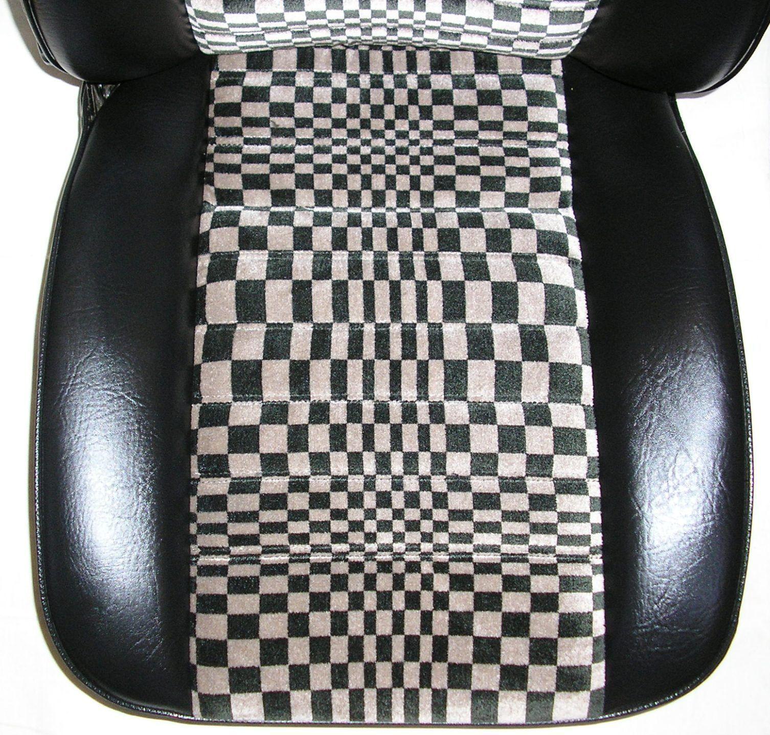 Porsche Sitze 924 Pascha Schwarz/Beige Auch 924 944 VW