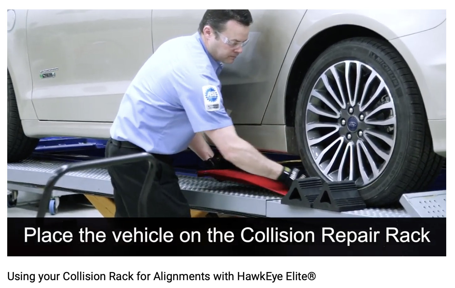 Feature Friday Check out how to use your collision rack for