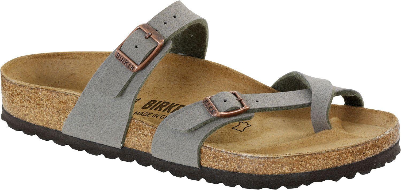 saucy Birkenstock Women's Mayari Adjustable Toe Loop Cork